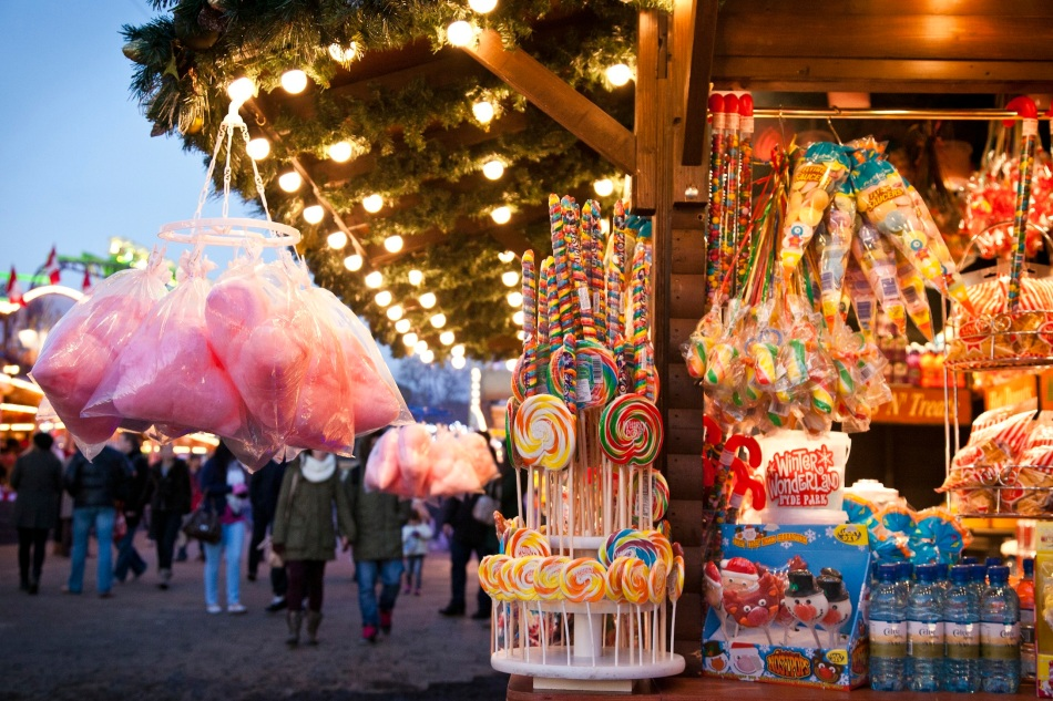 Candy Stall - Winter Wonderland