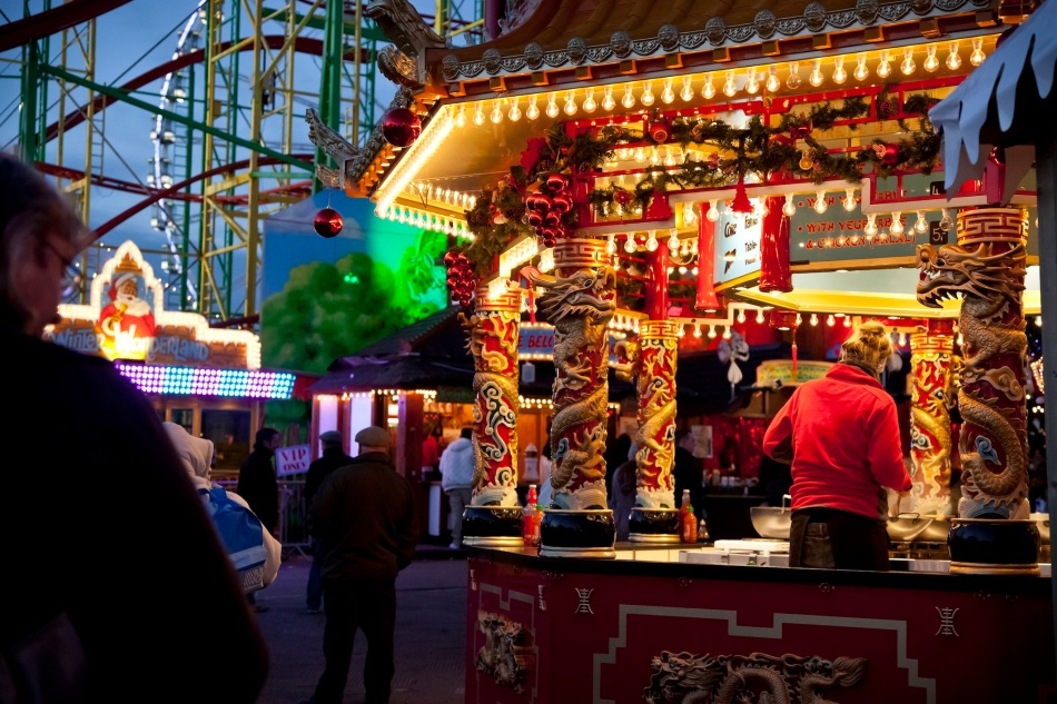 Food Stall - Winter Wonderland