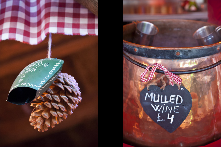 Mulled wine & Pine cone - Winter Wonderland