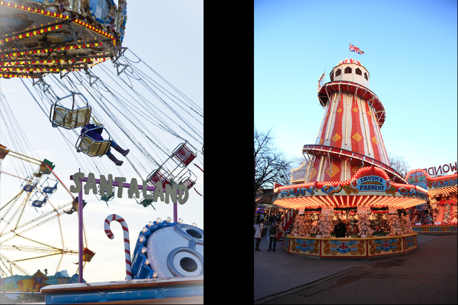 Carousel & Lighthouse - Winter Wonderland