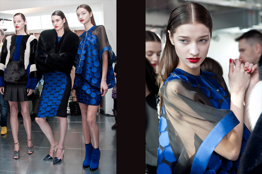 Antonio Berardi - blue outfits