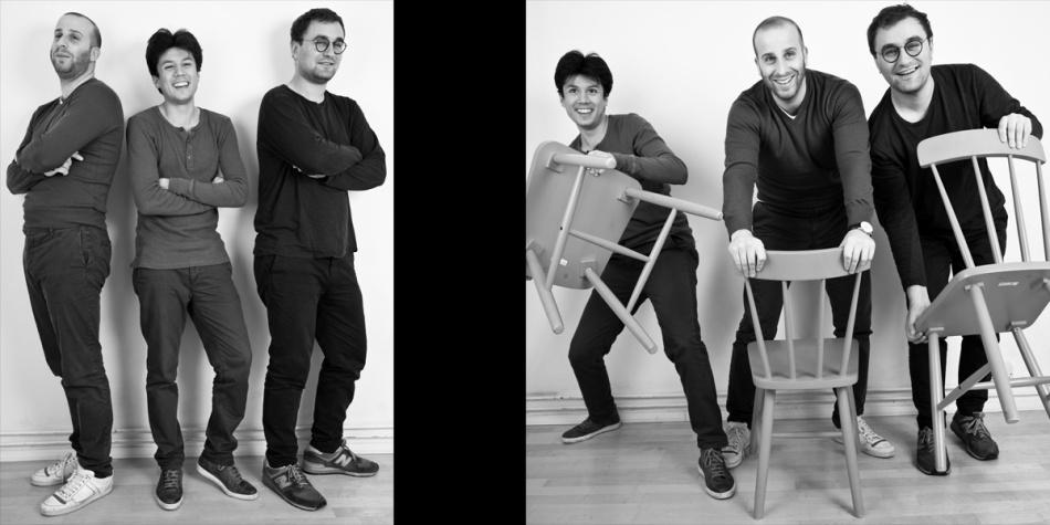 Tomas, Daniel & David - Standing