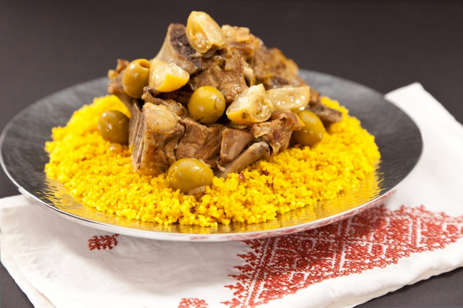 Lamb Tajine with green olives and lemon 1