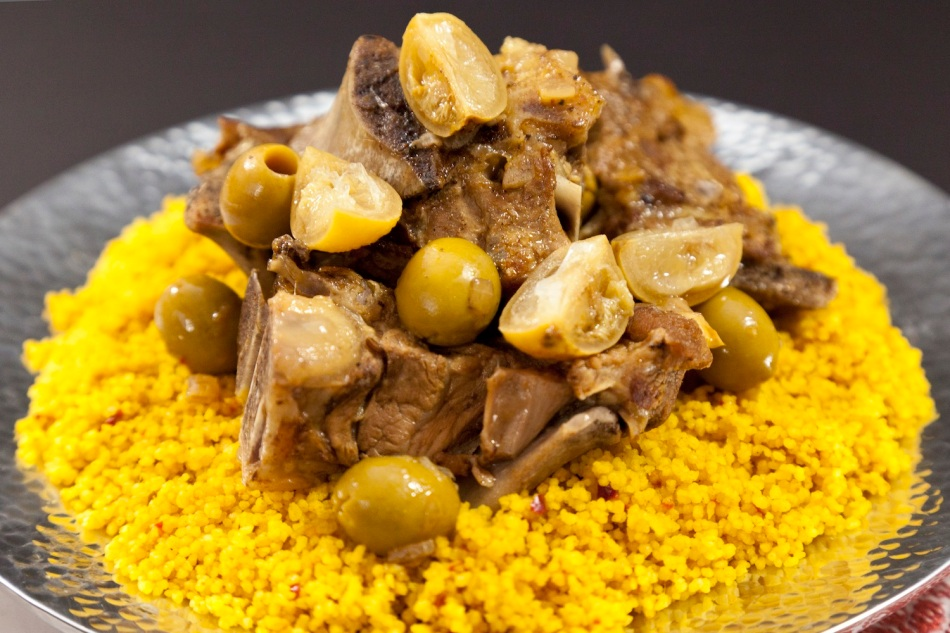 Lamb Tajine with green olives and lemon 3