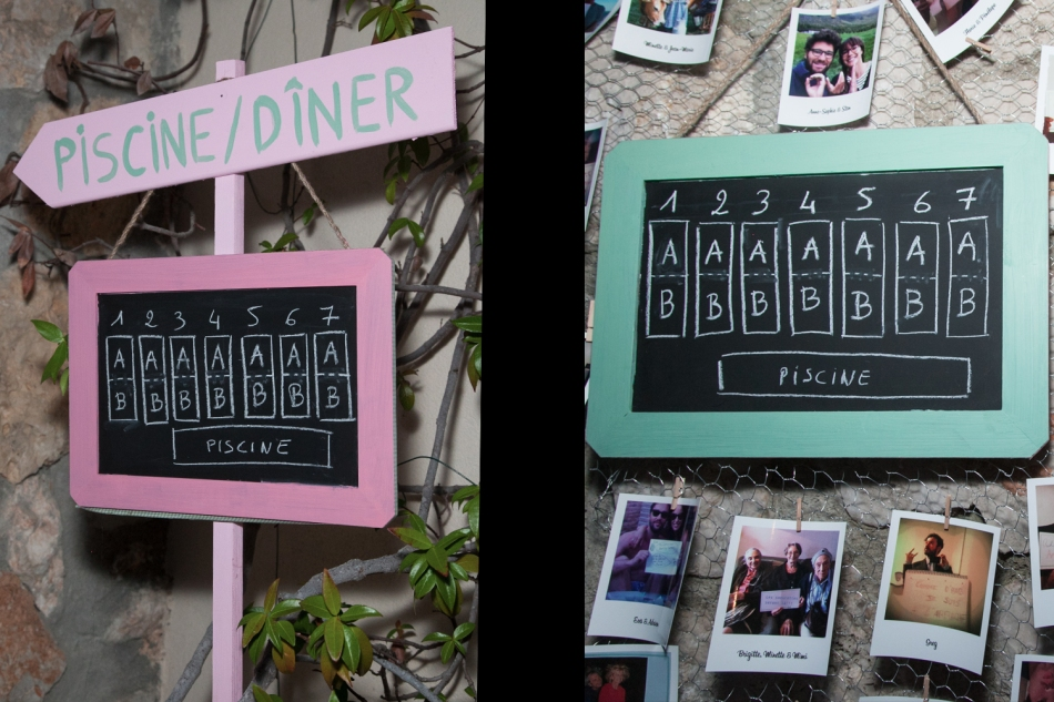 Wedding decoration & signs
