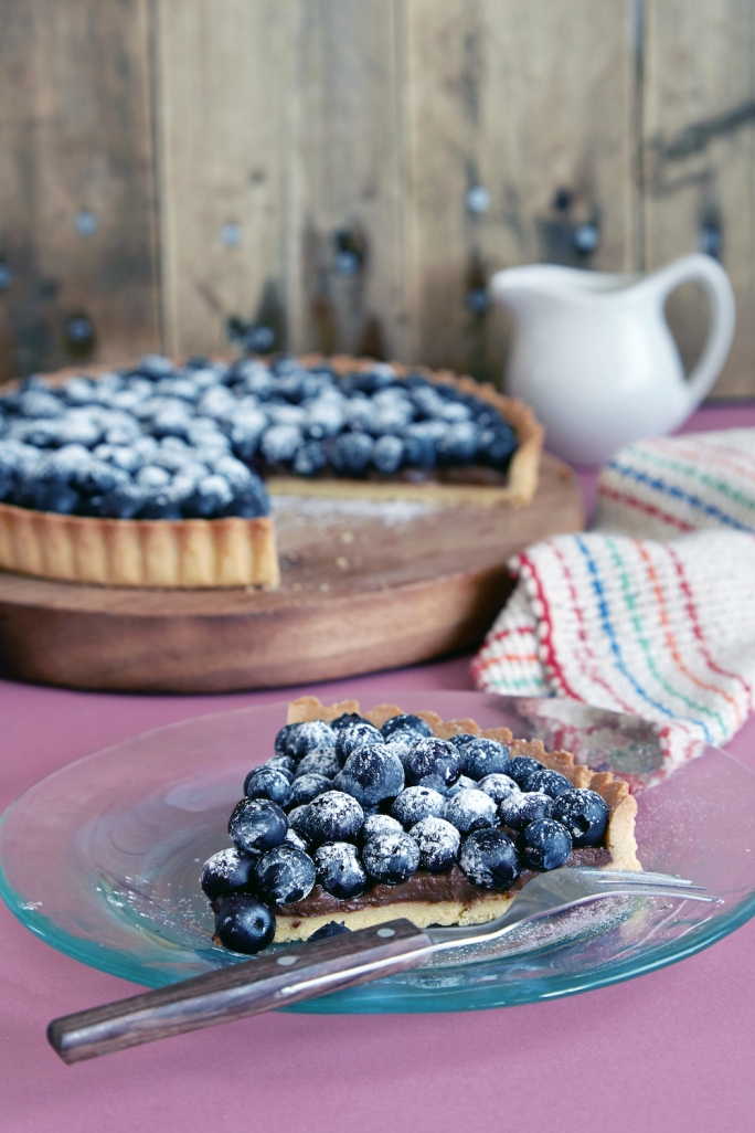 Blueberry tart 08