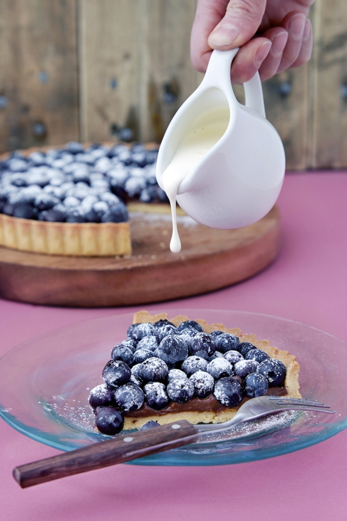 Blueberry tart 10