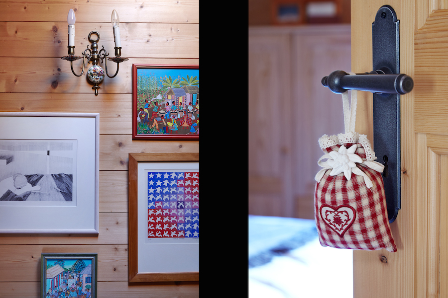 3 Frames & wall lamp - Bag of flavours