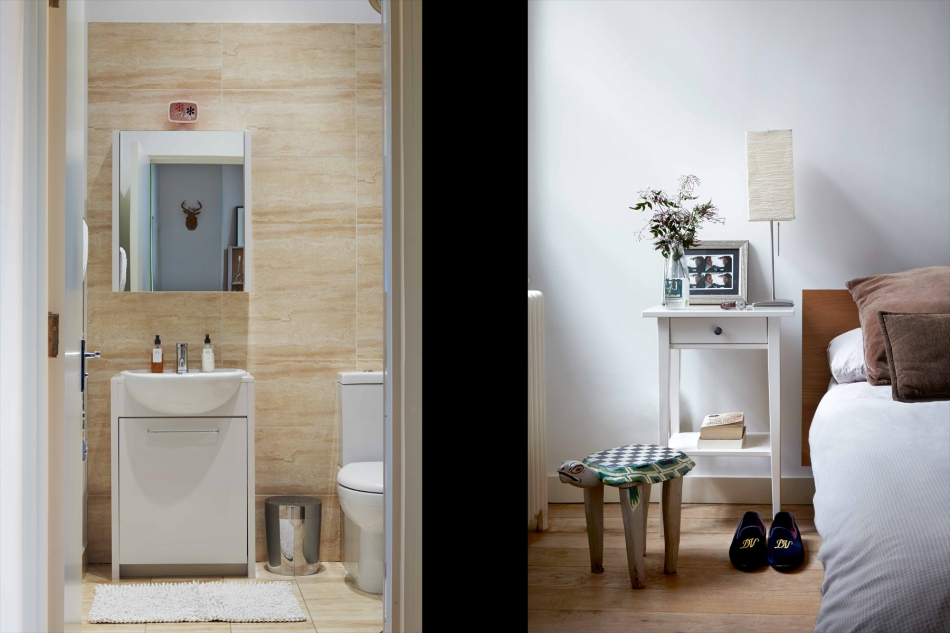 Bathroom & Bedroom - Hoxton